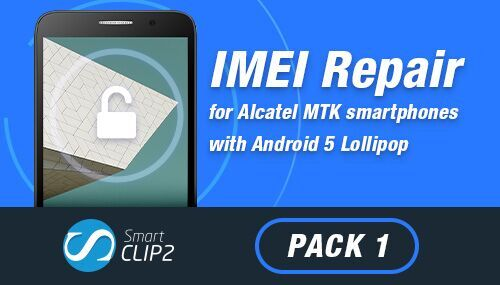 IMEI Repair for Alcatel MTK smartphones