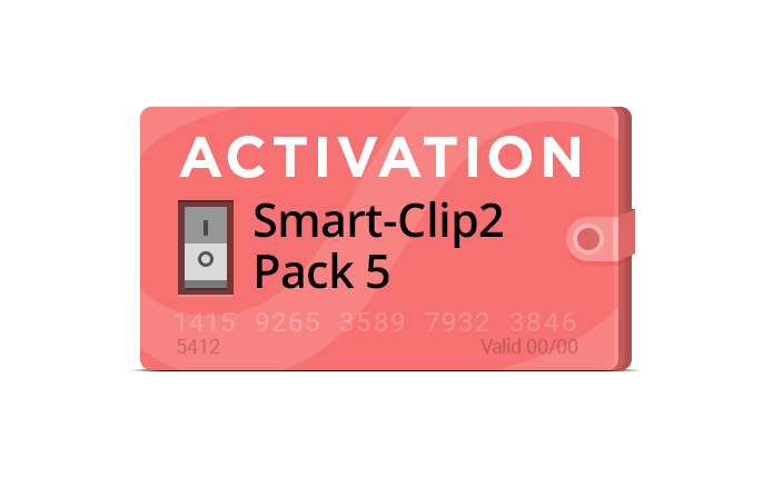 Pack 5 activation for Smart-Clip2