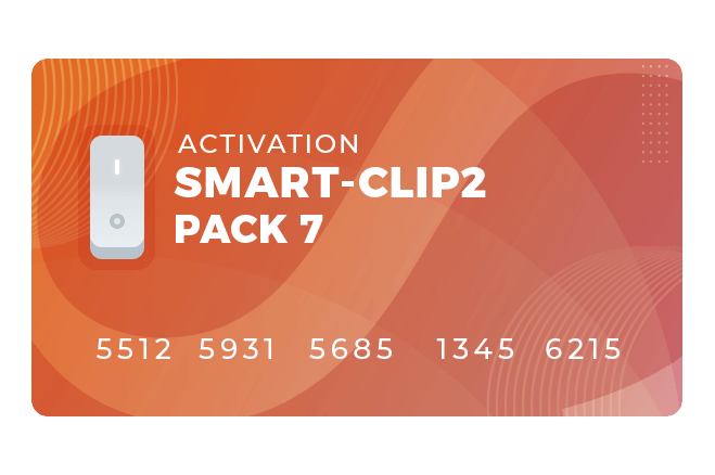 Pack 7 activation for Smart-Clip2