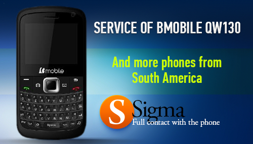 Bmobile QW130 - Direct Unlock / Read Phone Code with SigmaBox / SigmaKey