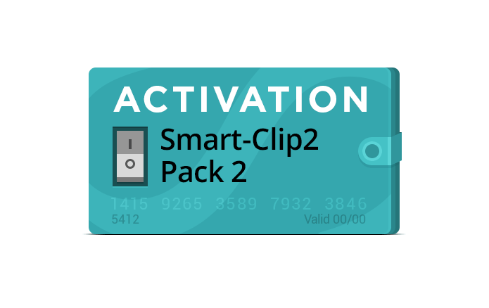 Pack 2 Activation for Smart-Clip2 - Smart-Clip2 - Flash, Unlock