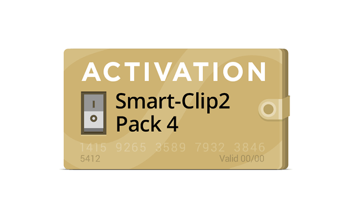 Pack 1 Activation for Smart-Clip2