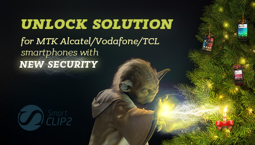 Yoda unlock  solution for MTK Alcatel, Vodafone, TCL smartphones