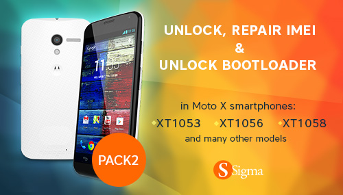 Sigma Pack2: Unlock, Repair IMEI and Unlock Bootloader